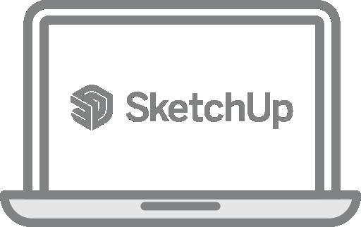 SketchUp Pro mokymo kursai – Pradedantiesiems